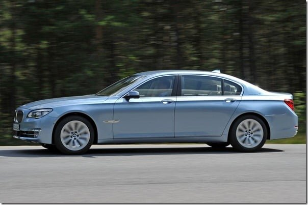 BMW 7 Series ActiveHybrid 2013 side