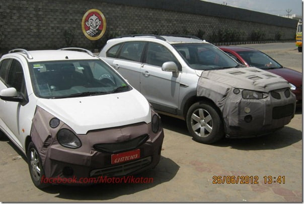 2012 Chevrolet Beat Facelift Ready For Diwali Launch?