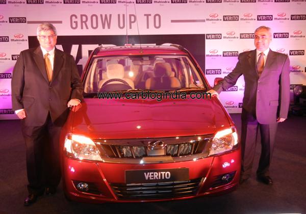 2012 Mahindra Verito New Model