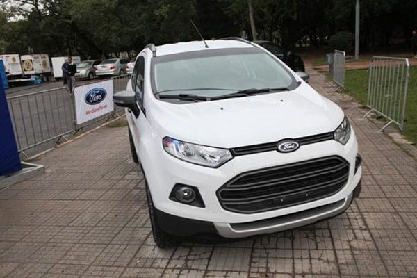 Ford EcoSport Parade Brazil (1)