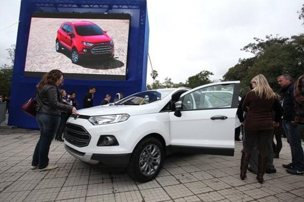 Ford EcoSport Parade Brazil (8)