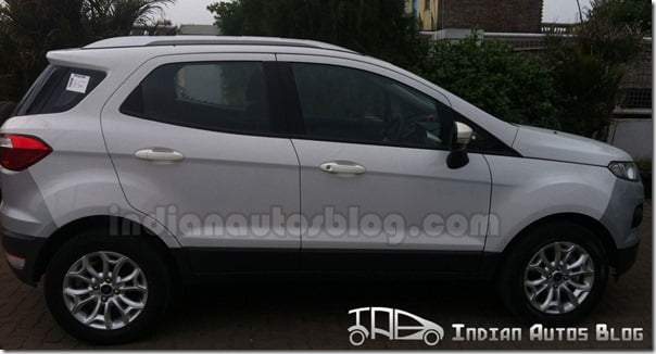 Ford EcoSport Powershift Automatic Variant Side