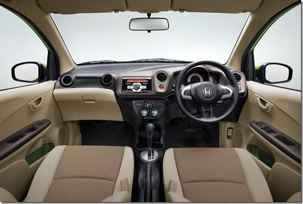 Honda Brio Australia Interiors