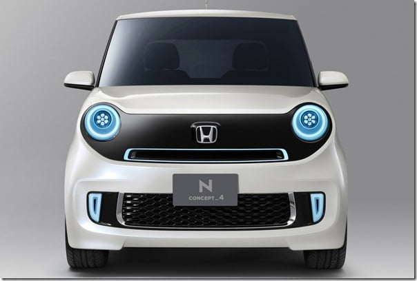Honda N Concept 4 front