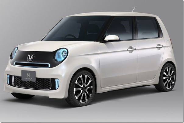 Honda N Concept 4 small car