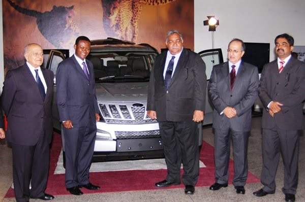 Mahindra XUV500 Launched In Kenya