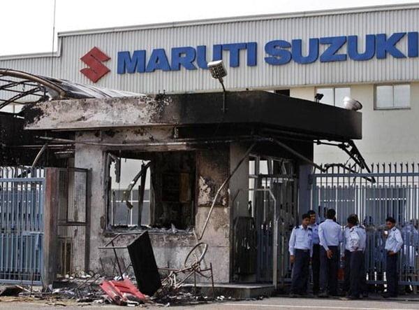 Maruti Suzuki India Violence
