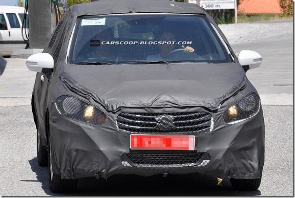 2013 Maruti SX4 next generation front