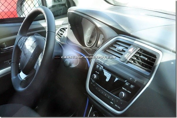 2013 Maruti SX4 next generation interiors