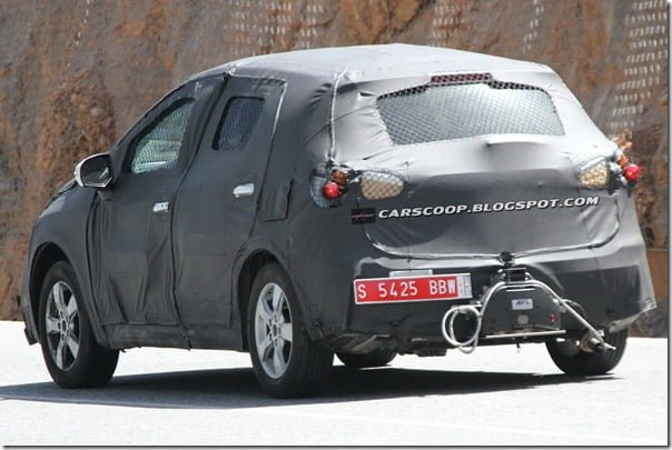 2013 Maruti SX4 next generation rear angle
