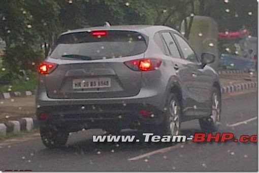 Mazda CX-5 India Spy Pictures Rear