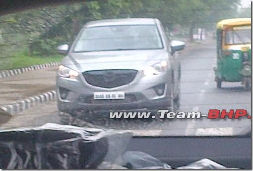 Mazda CX-5 India Spy Pictures