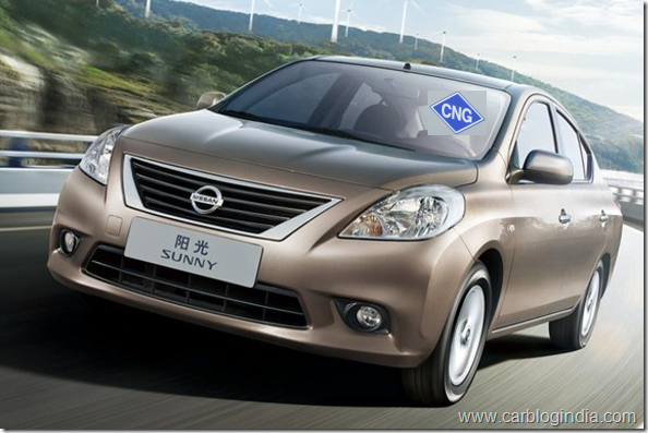 Nissan Sunny CNG