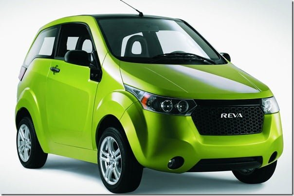 REVA NXR Electric Vehicle front side angle