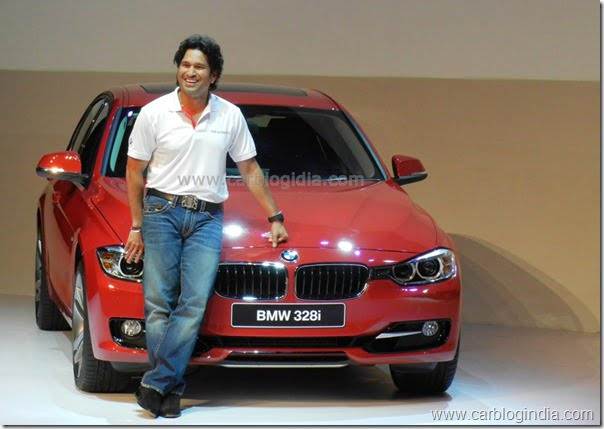 Sachin Tendulakar to promote BMW Cars in India