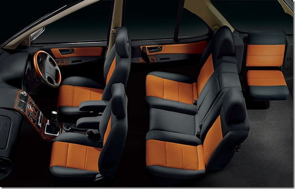 Tata Safari Dicor Interiors