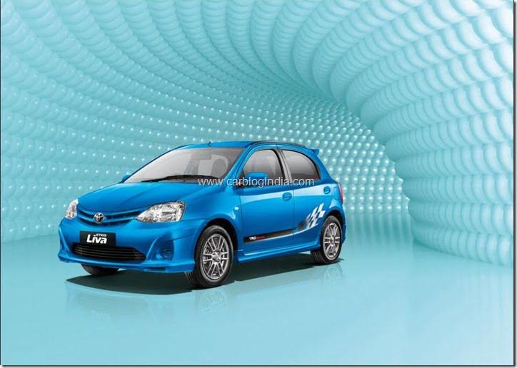 Toyota Liva LE - Blue