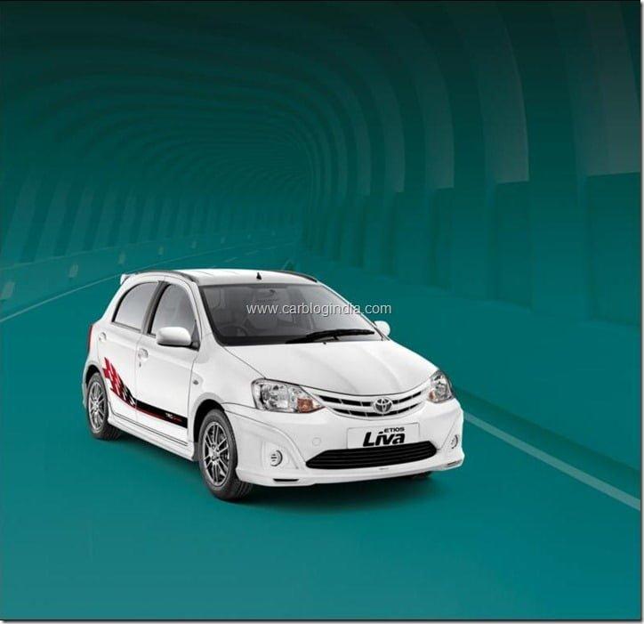 Toyota Liva LE - White
