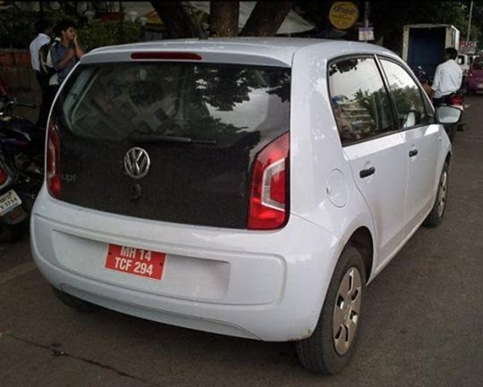 Volkswagen Up 4 Door Spotted Testing In India– Launch Expected In 2013