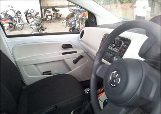 Volkswagne Up Spy Pictures India (3)
