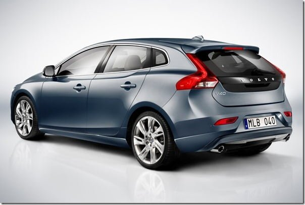 Volvo V40 - XC40 Base rear