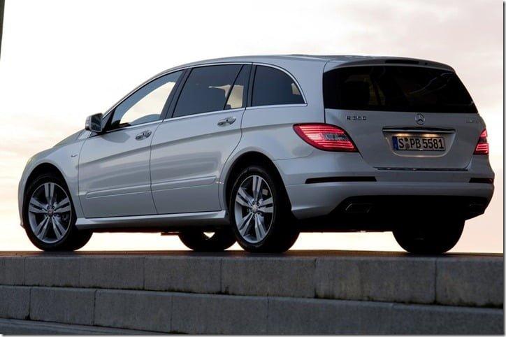 2011 Mercedes Benz R-Class rear