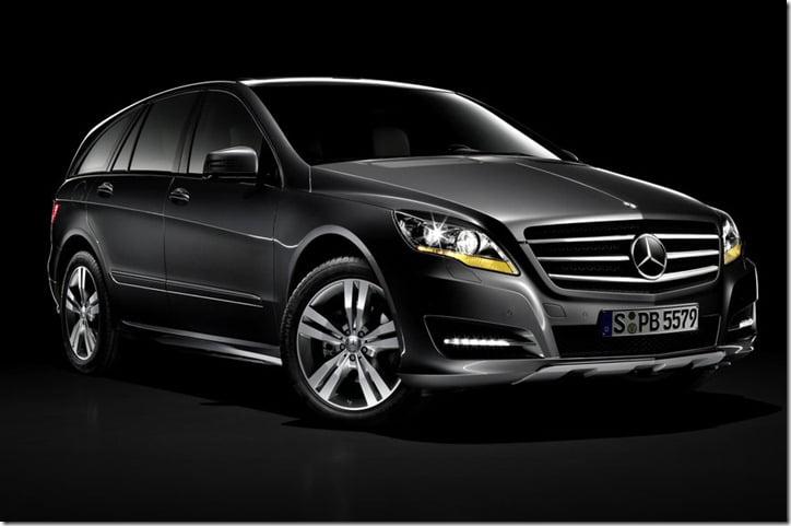 2011 Mercedes Benz R-Class studio