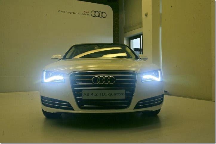 2012 Audi A8 4.2  front