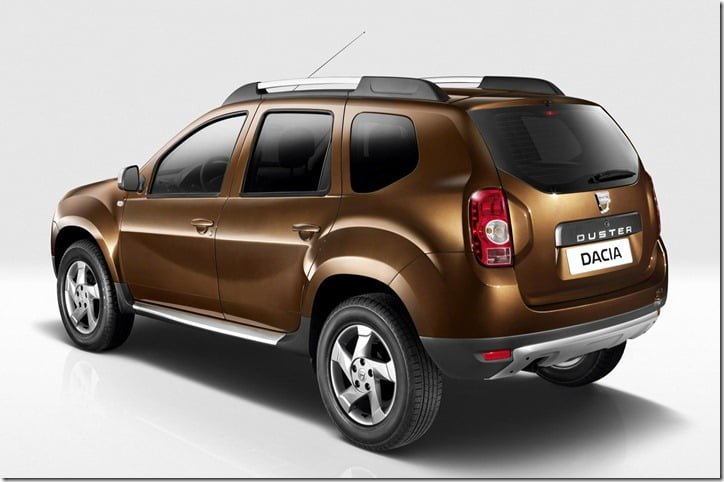2012 Renault Duster rear