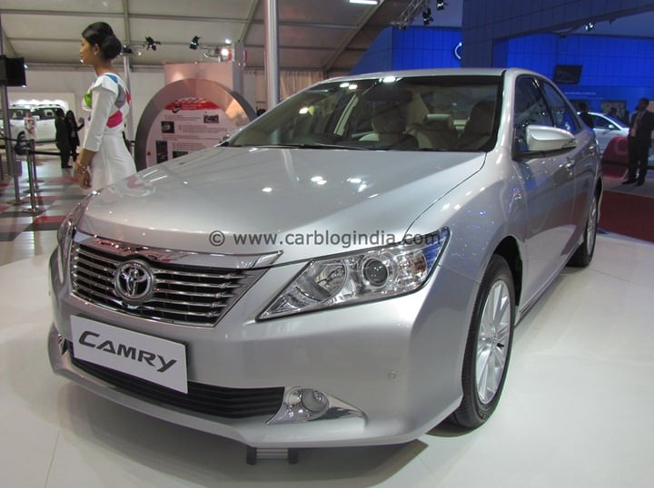 2012 Toyota Camry Launched In India Price Features Pictures Details