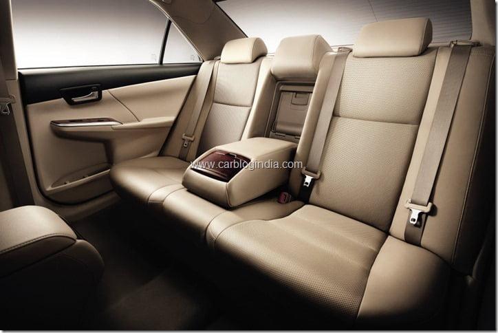 2012 Toyota Camry Interiors-rear