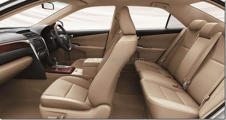 2012 Toyota Camry Interiors