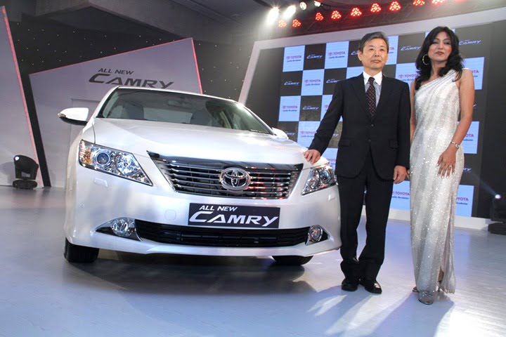 2012 Toyota Camry Launch In India