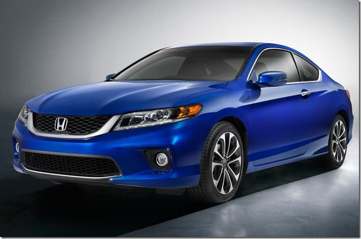 2013 Honda Accord Coupe 1