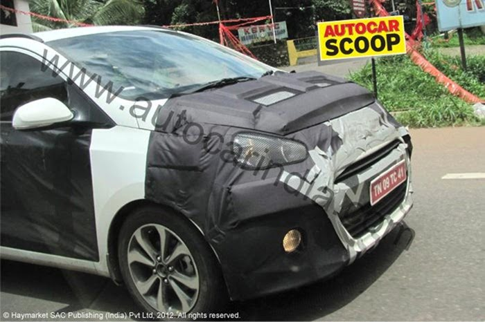2013 Hyundai i10 testing in India (1)