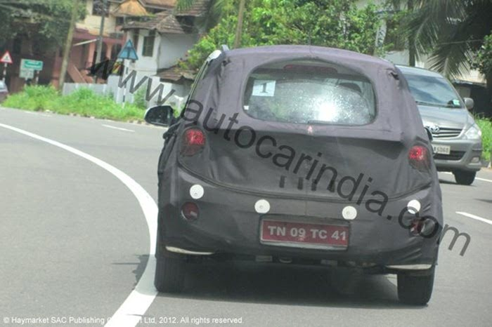 2013 Hyundai i10 testing in India (2)