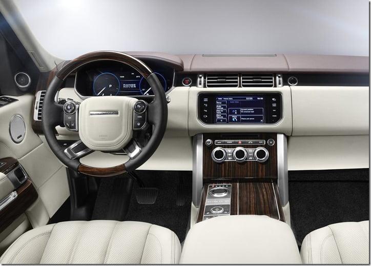 2013 Land Rover Range Rover SUV interiors