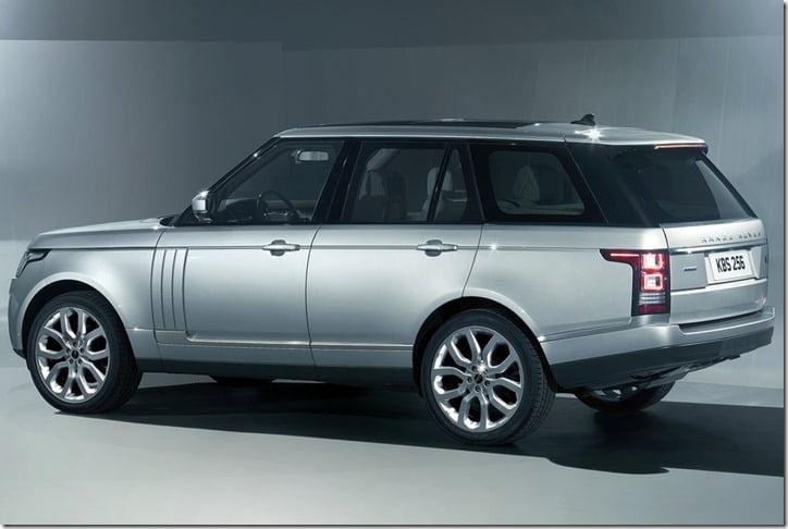 2013 Land Rover Range Rover SUV rear
