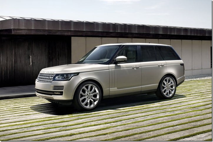 2013 Land Rover Range Rover SUV side