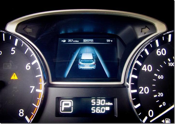 2013 Nissan Pathfinder instrument cluster