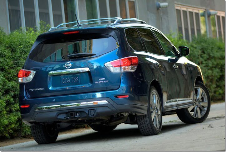 2013 Nissan Pathfinder rear