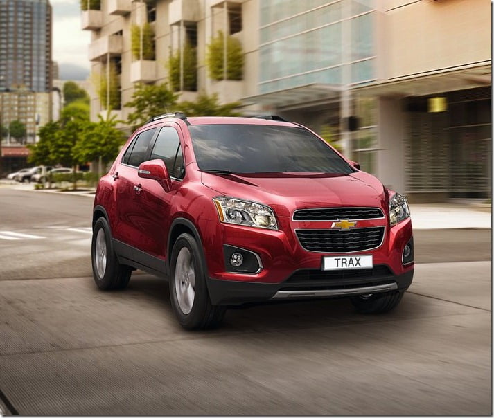 2014 Chevrolet Trax Compact SUV 1