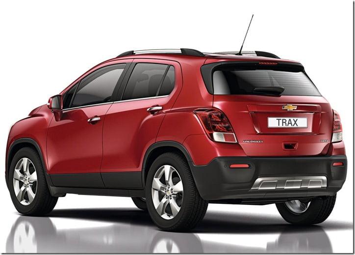 2014 Chevrolet Trax Compact SUV studio 2