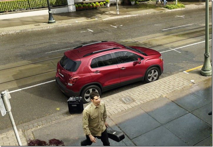 2014 Chevrolet Trax Compact SUV top