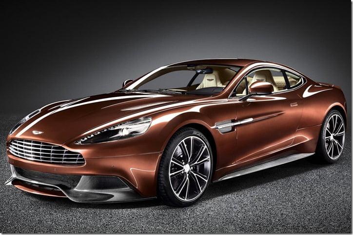 Aston Martin Vanquish 2013 front