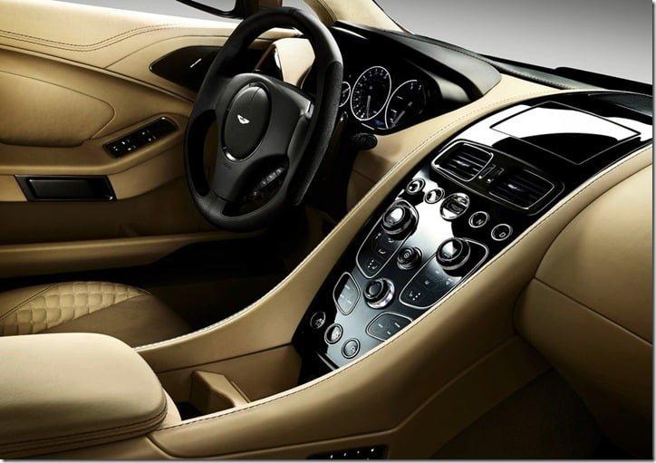 Aston Martin Vanquish 2013 interio