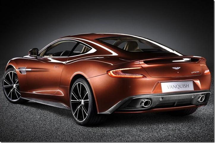 Aston Martin Vanquish 2013 rear