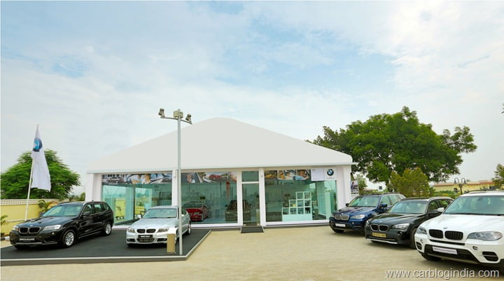 BMW Mobile Showroom, Karnal 1
