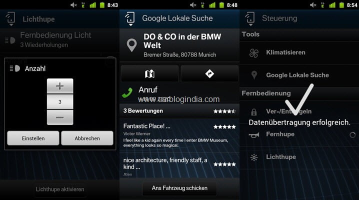Control BMW From Smart Phone-2