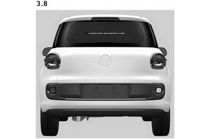 Fiat 500 XL Patent Drawings (3)
